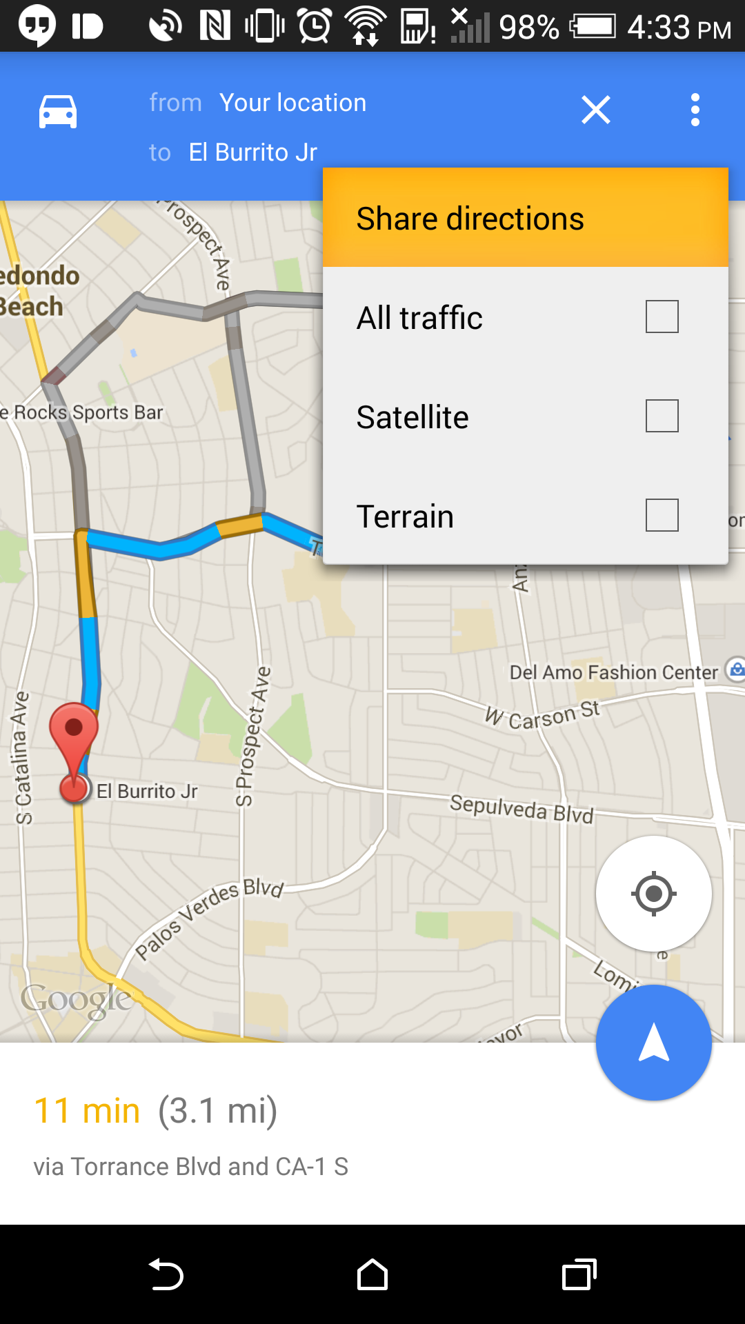 Download Google Maps 9 3 With Sharable Directions