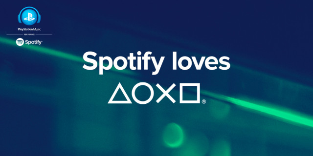 Sony Spoitfy PlayStation Music
