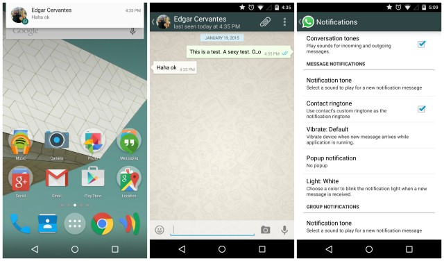 WhatsApp Notifications