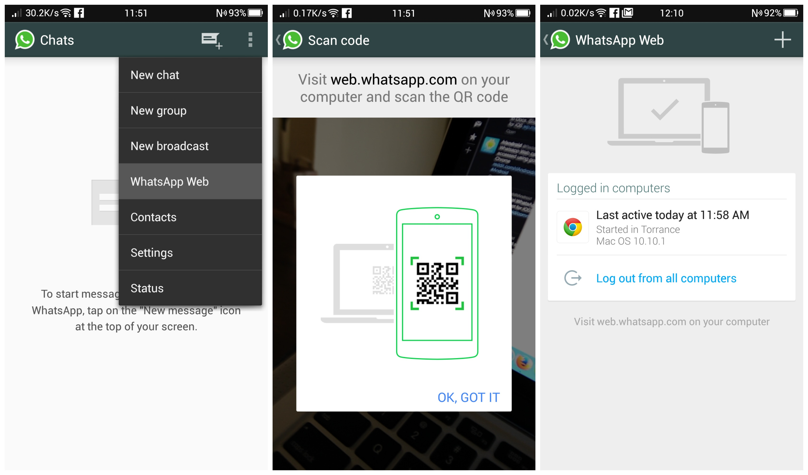 download whatsapp on pc whatsapp web