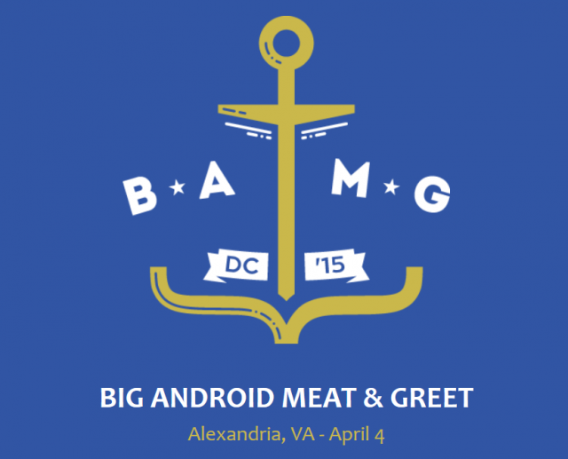 big android meet and greet dc