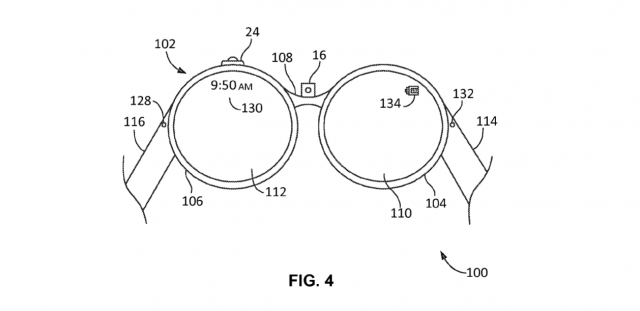 google glass prototype patent image 2