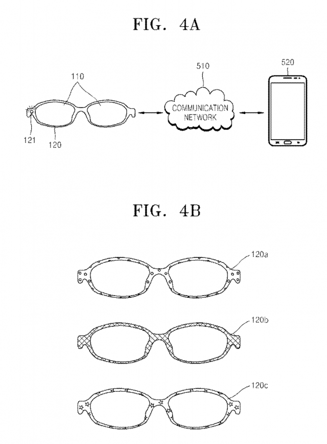 samsung glasses patent 1