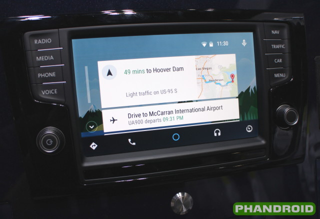 Android auto vw