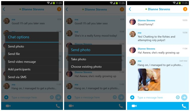 Skype 5.2 update Android