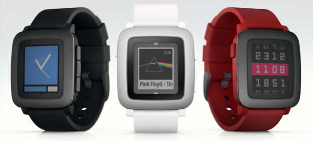 pebble time trio