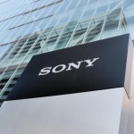sony logo building