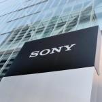 sony logo building