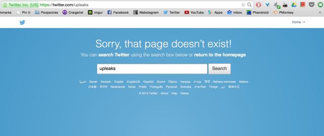 upleaks twitter removed