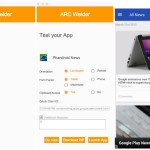 ARC Welder Chrome app