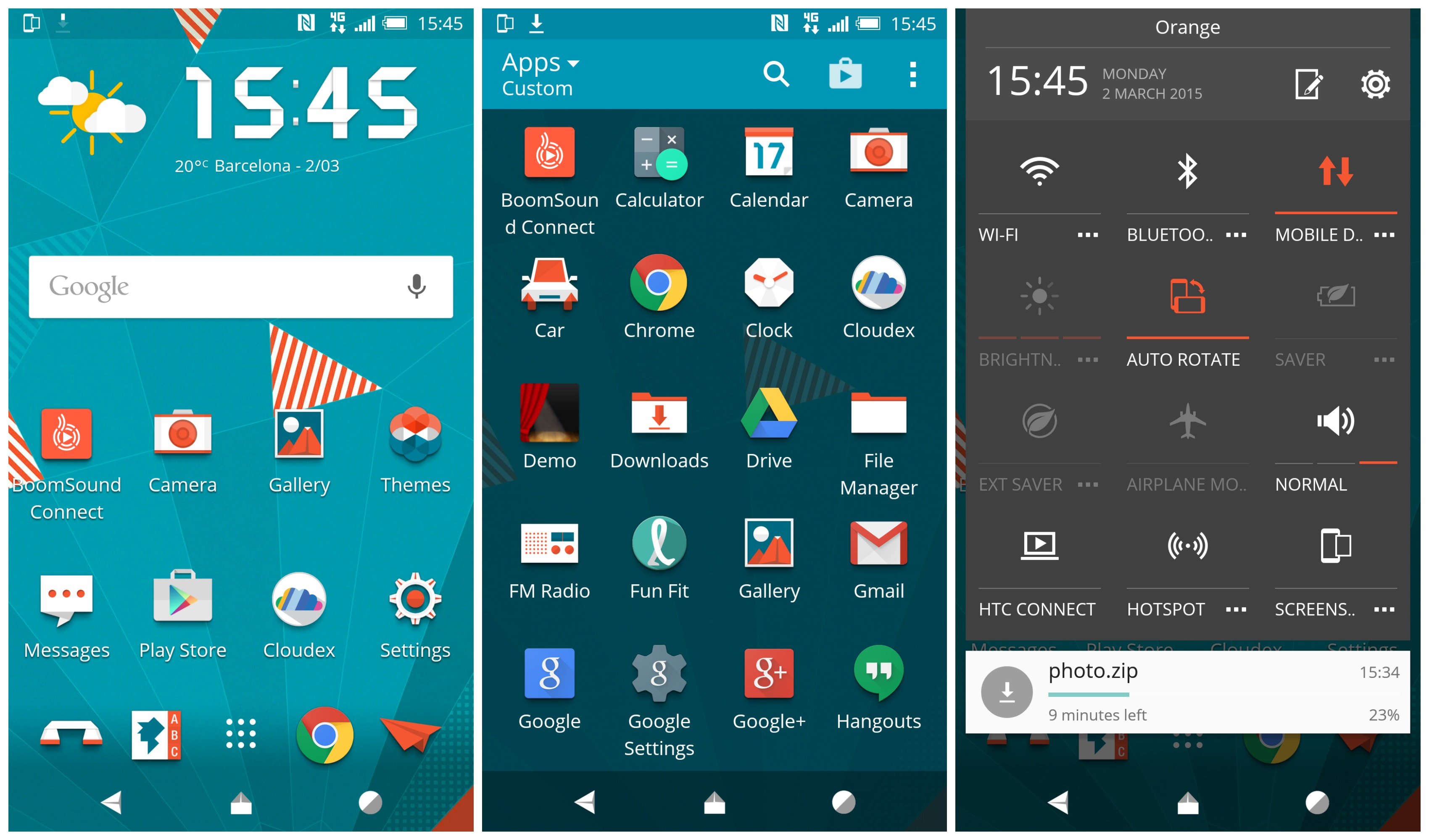 how to create a theme for android