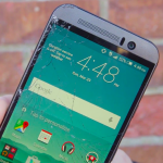HTC One M9 cracked display