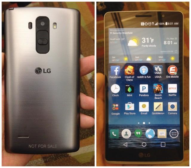 LG G4 Note leak