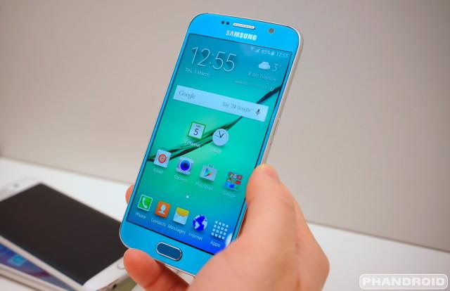 Samsung Galaxy S6 Clock Calendar DSC08975