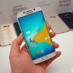 Samsung Galaxy S6 Edge screen settings DSC08583