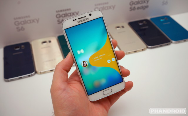 "A tour of the Samsung Galaxy S6 ""Edge Screen"" features and ..."