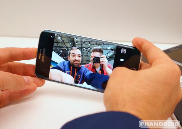 Samsung Galaxy S6 Selfie