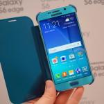 Samsung Galaxy S6 flip case open DSC08607