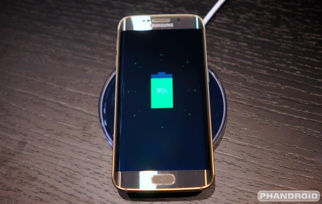 Samsung Galaxy S6 wireless charging DSC08718