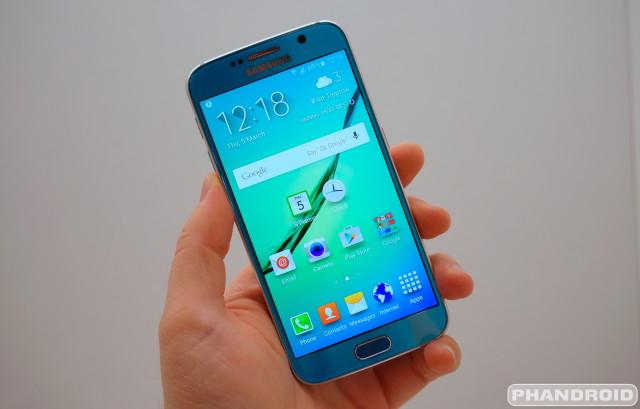 Sasmung Galaxy S6 Calendar Clock app icon DSC08966