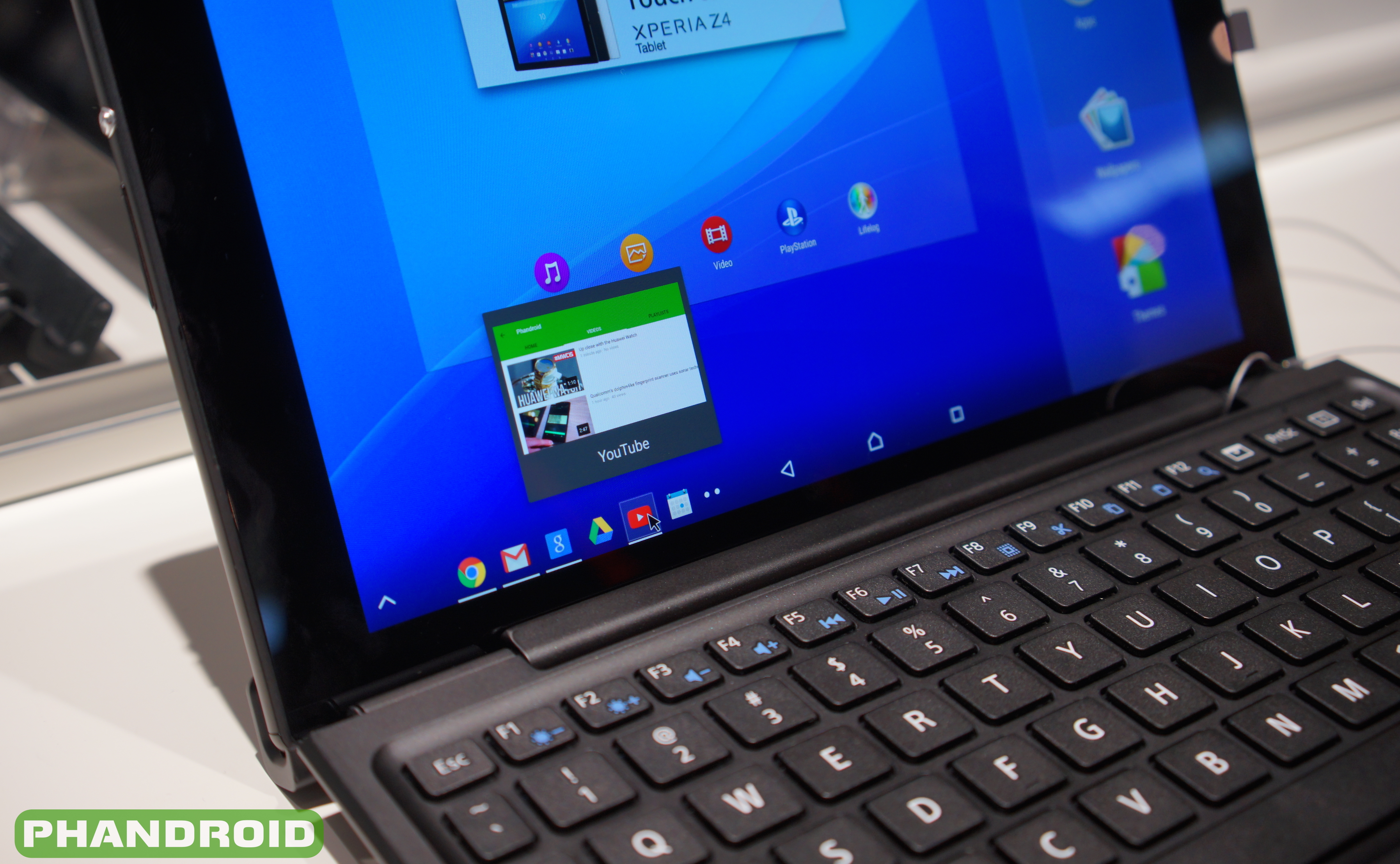 Handson: Sony Xperia Z4 Tablet [VIDEO]