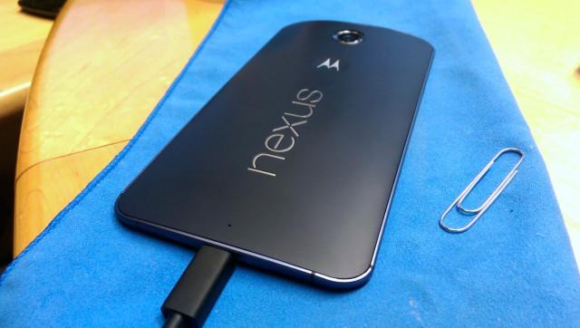 Verizon Nexus 6 after