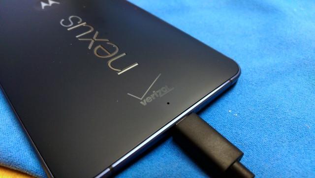 Verizon Nexus 6 logo before