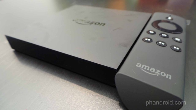 amazon fire tv and remote