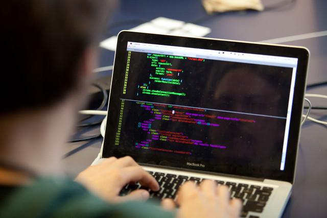 developer code coding typing type keyboard