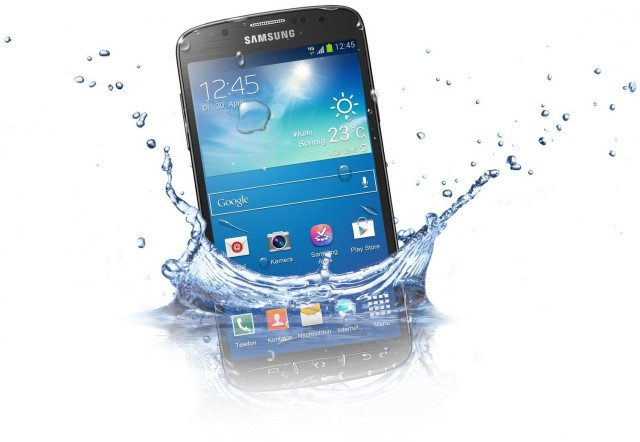 The Galaxy S6 isn't waterproof… but what about the Galaxy ...