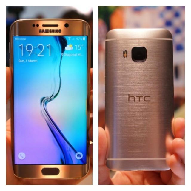 galaxy s6 vs htc one m9