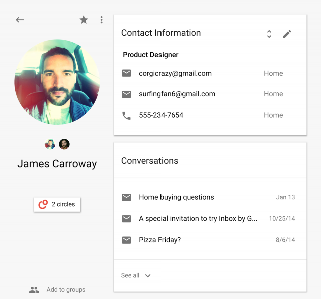 google contacts preview 2