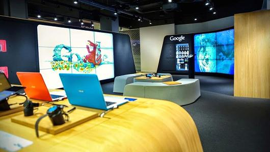 google retail shop store uk