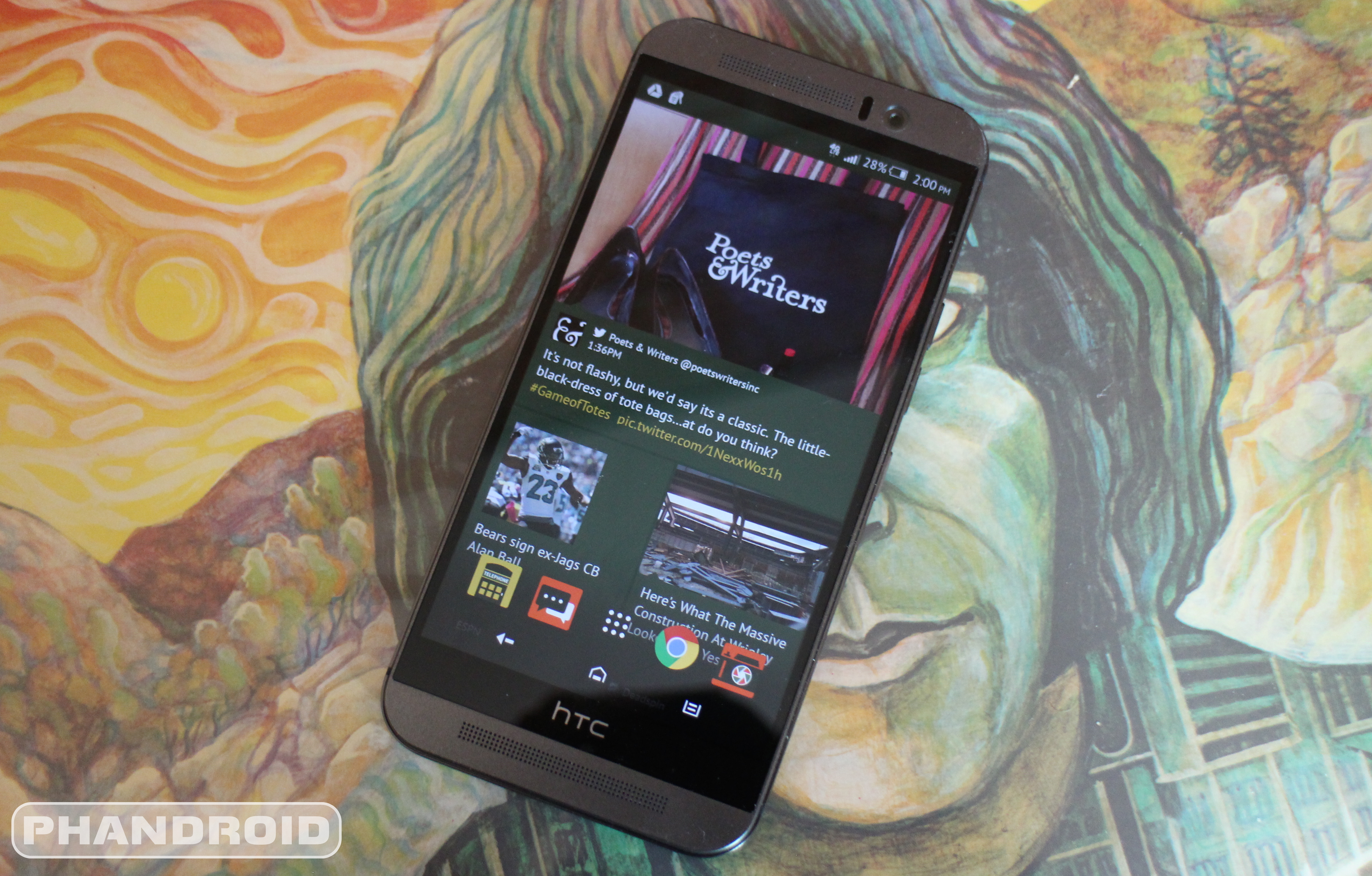 The HTC One M8 won't get HTC Sense 7 until Android M update