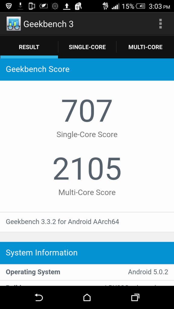 one-m9-geekbench