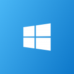 windows banner blue