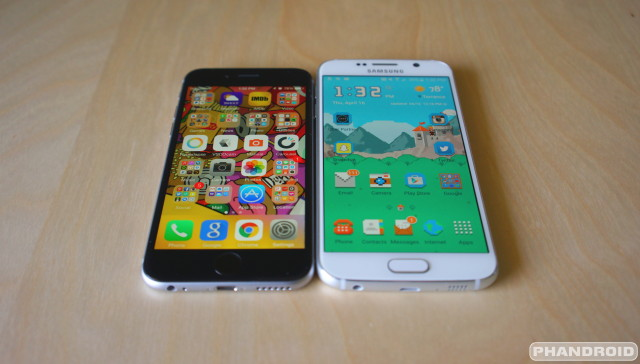 Galaxy S6 vs iPhone 6 DSC09431