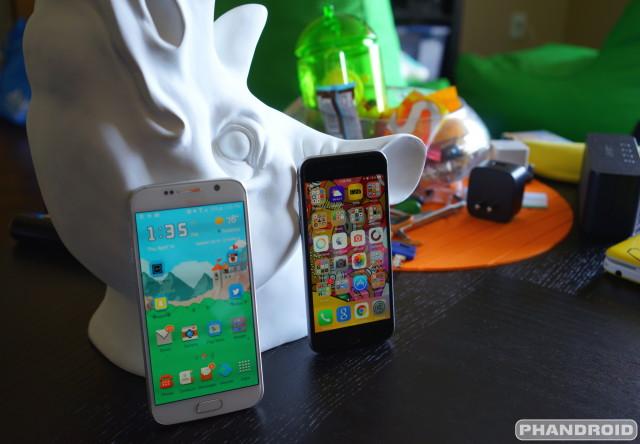 Galaxy S6 vs iPhone 6 DSC09437