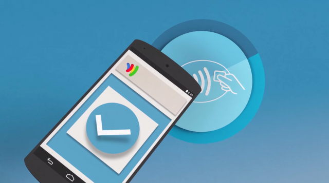 Google Wallet tap to pay phone
