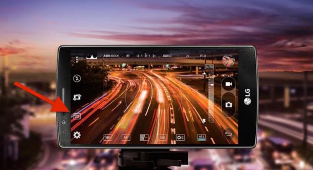 LG G4 RAW support camera app