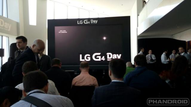 LG G4 day
