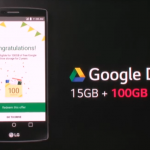 LG G4 google drive