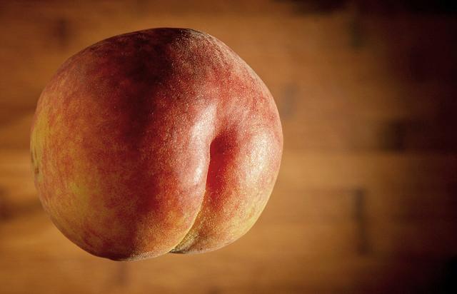 Peach butt