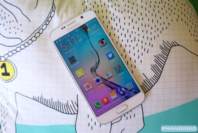 Samsung Galaxy S6 DSC09334
