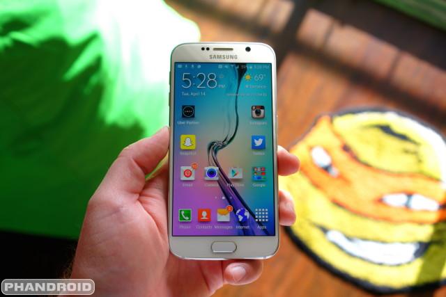 Samsung Galaxy S6 DSC09368