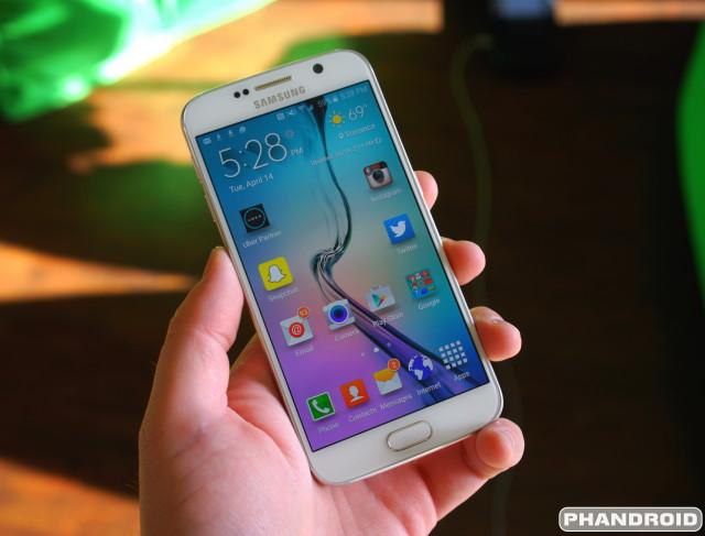 Samsung Galaxy S6 DSC09370