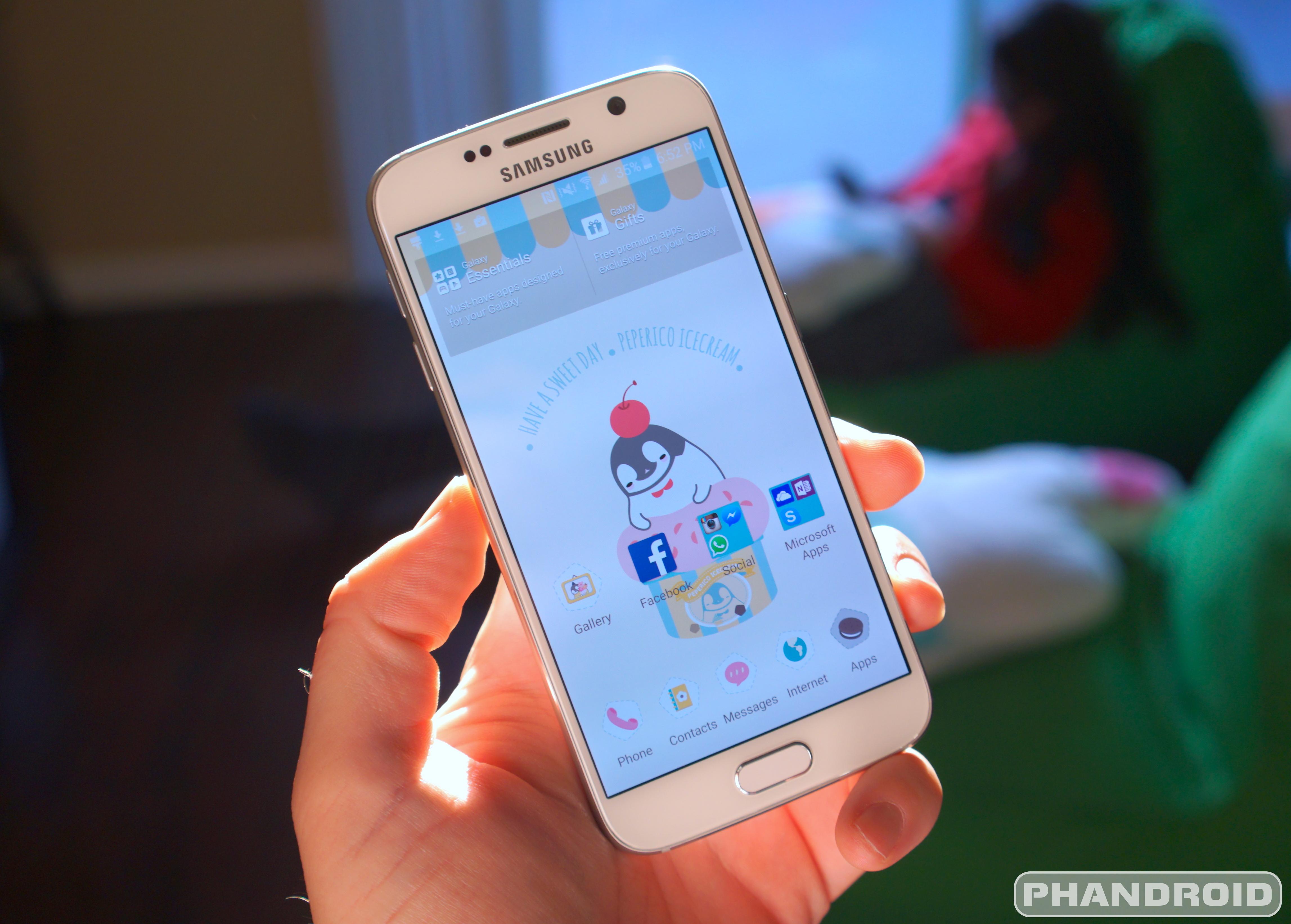 Samsung Galaxy S6 DSC09394
