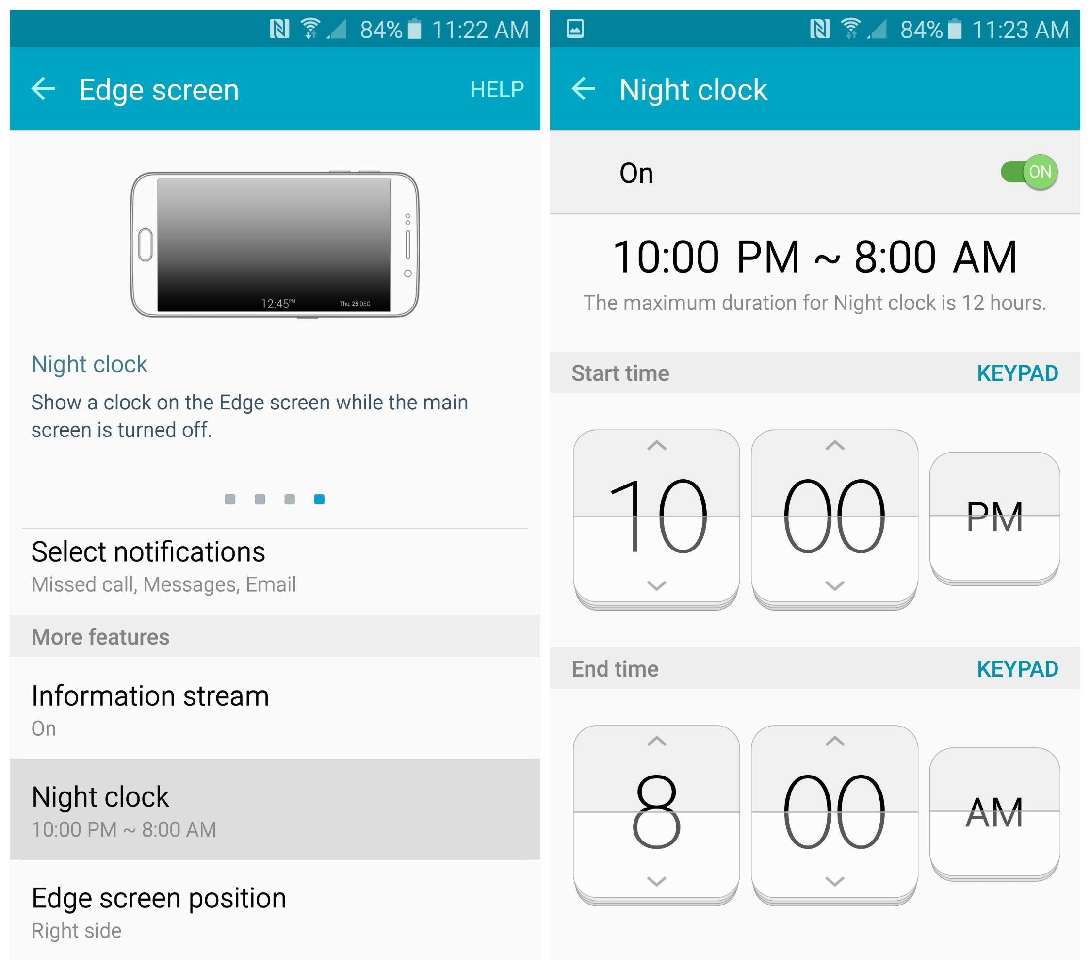 how to make numbers bigger on samsung galaxy s5 clock