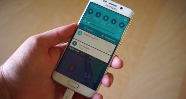 Samsung Galaxy S6 Fast Charging