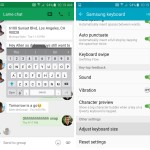 Samsung Galaxy S6 Keyboard resizing